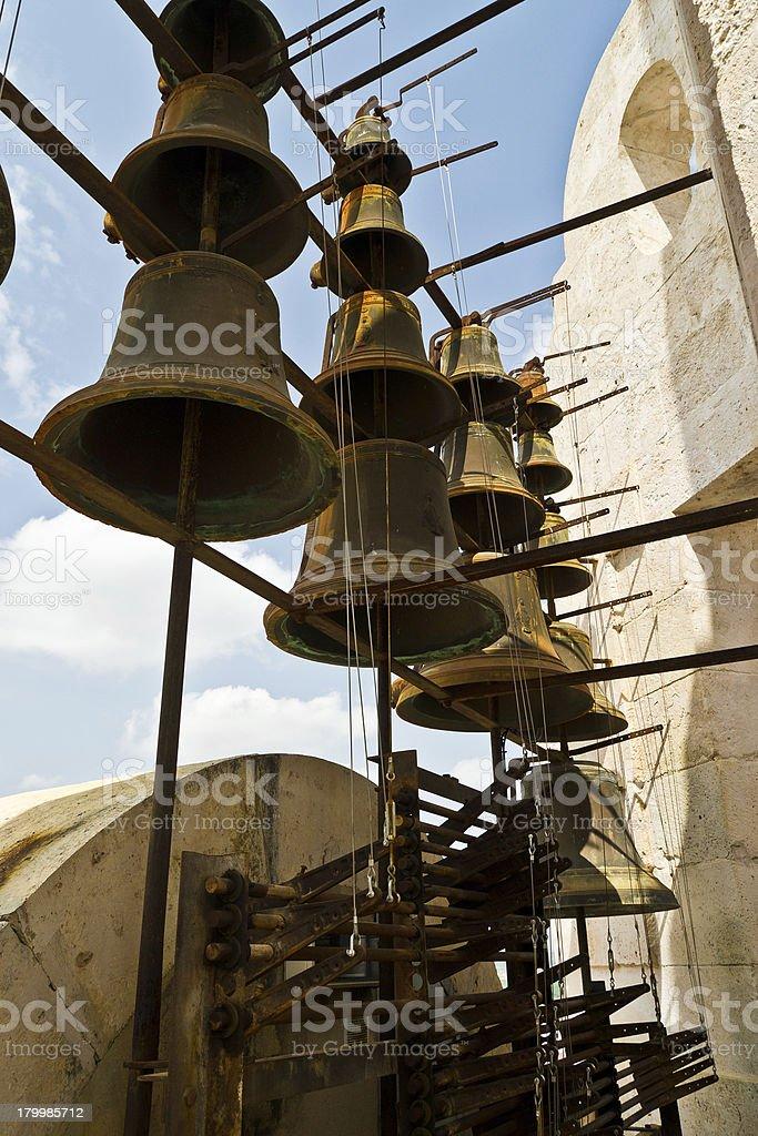 Campanas de La Colegiata royalty-free stock photo