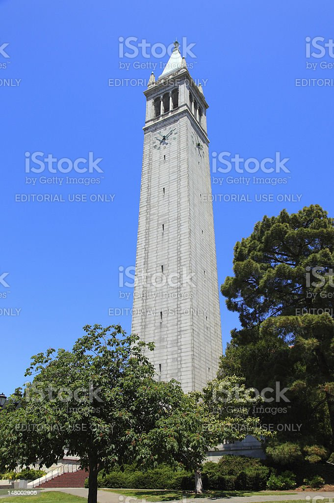Campanil tower stock photo