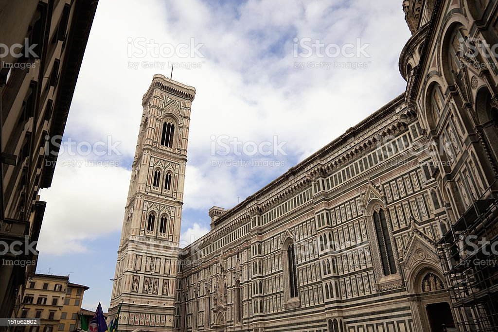 Campanile in Florence. royalty-free stock photo