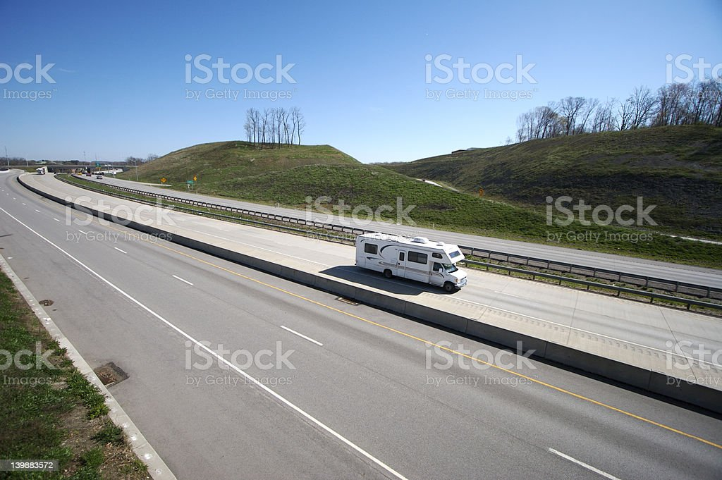 Camper royalty-free stock photo