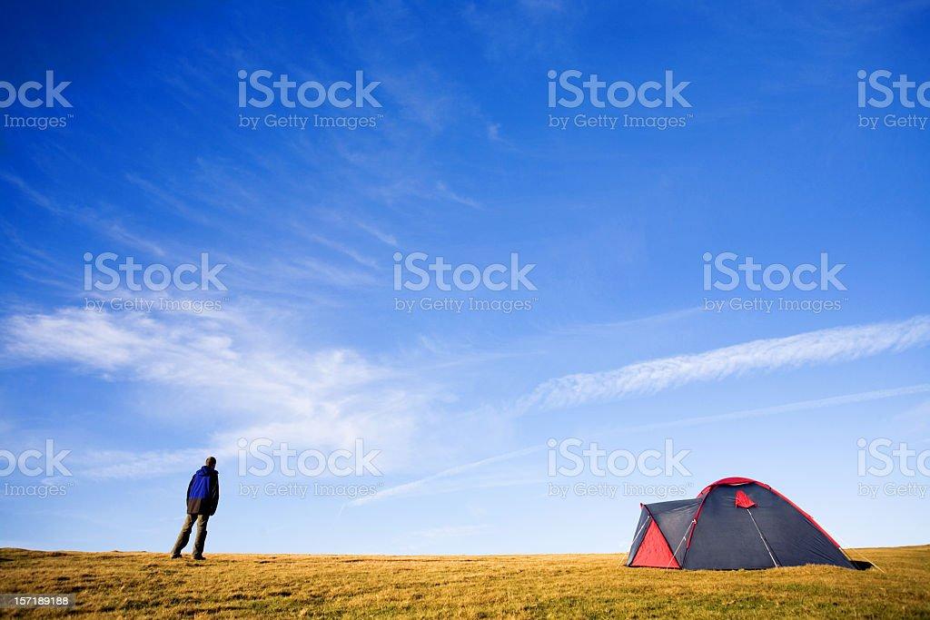 Camper stock photo