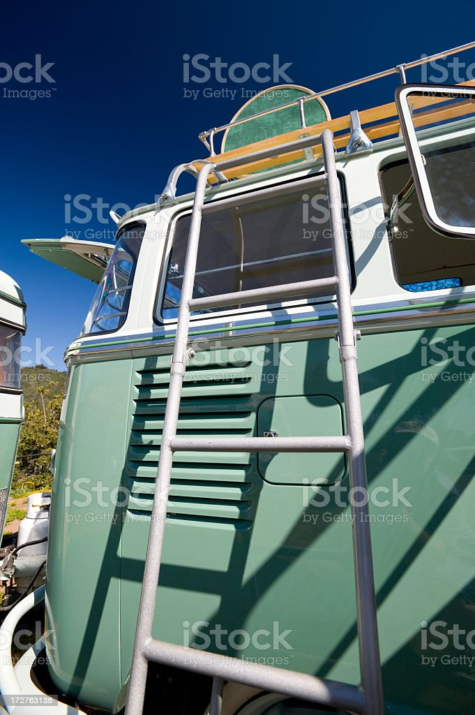 VW Camper royalty-free stock photo