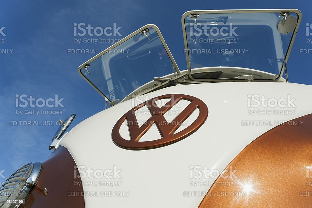 VW Camper stock photo