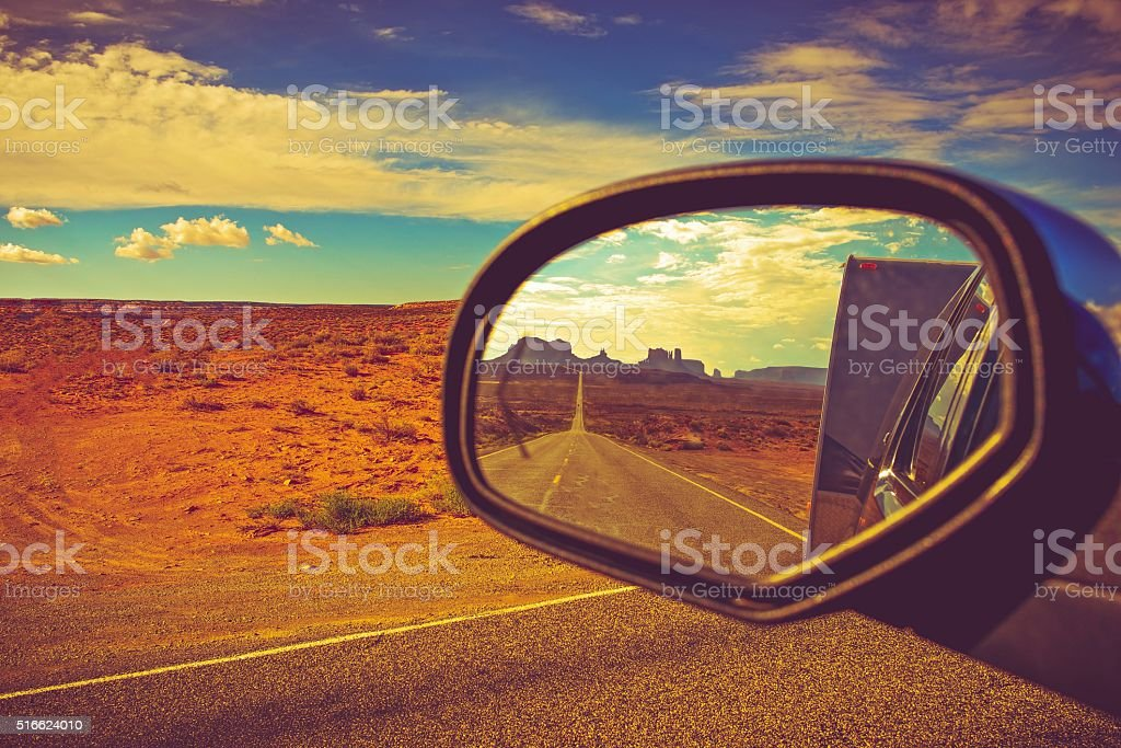 Camper Trip in Arizona stock photo