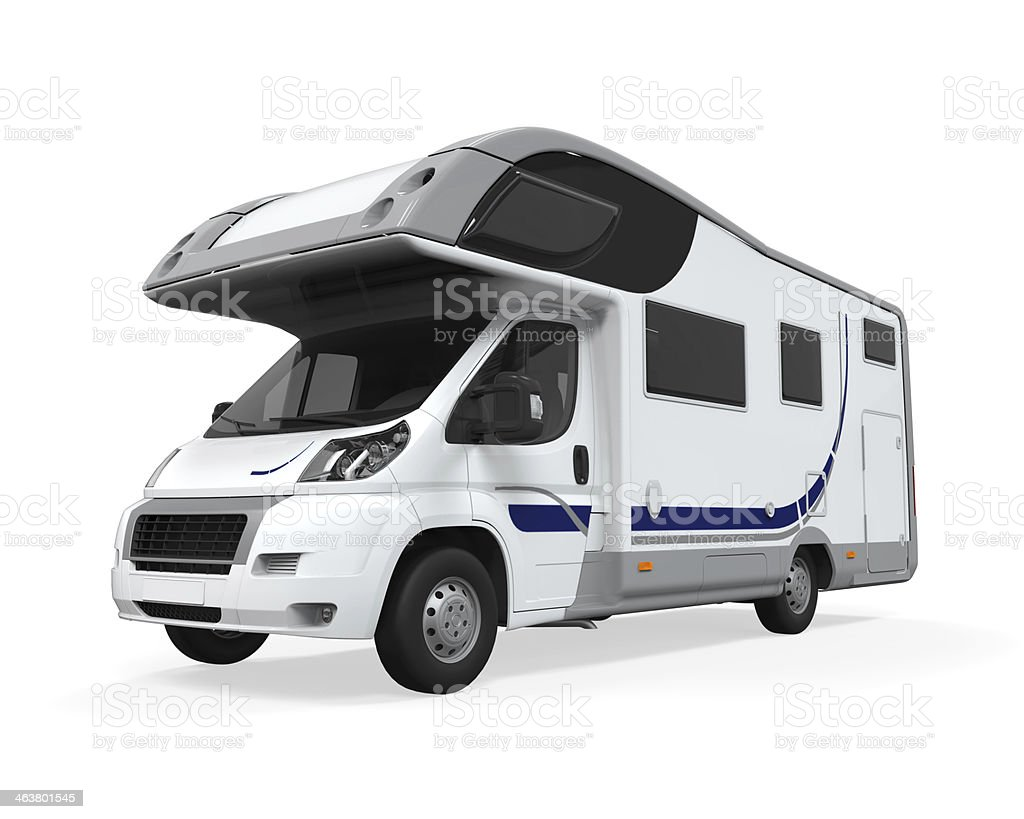Camper Van Isolated stock photo