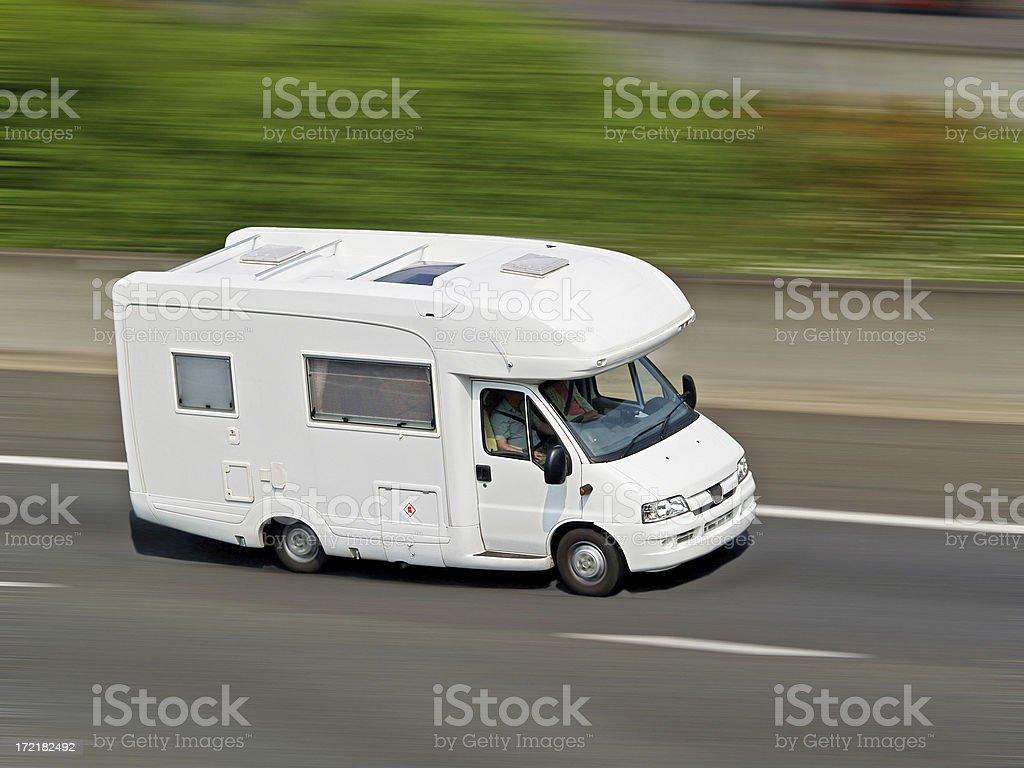 Camper Van royalty-free stock photo