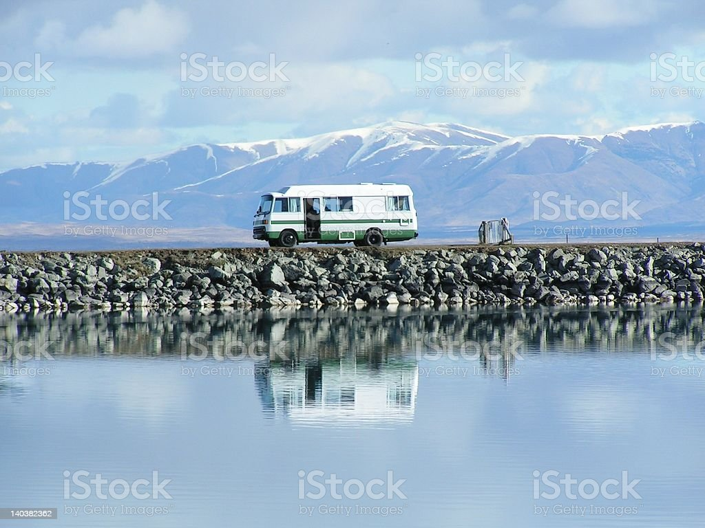 Campers Dream stock photo