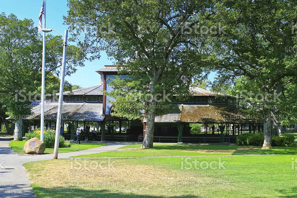 Campground Tabernacle, Martha's Vineyard. royalty-free stock photo