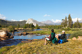 Camping at Tuolumne Meadow