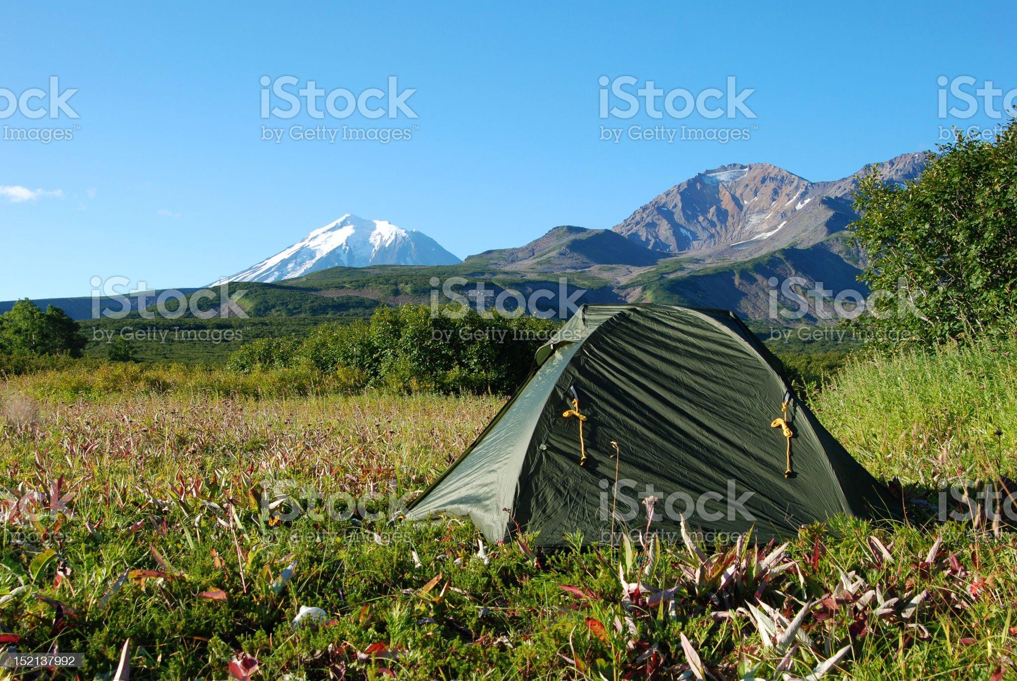 Camping royalty-free stock photo