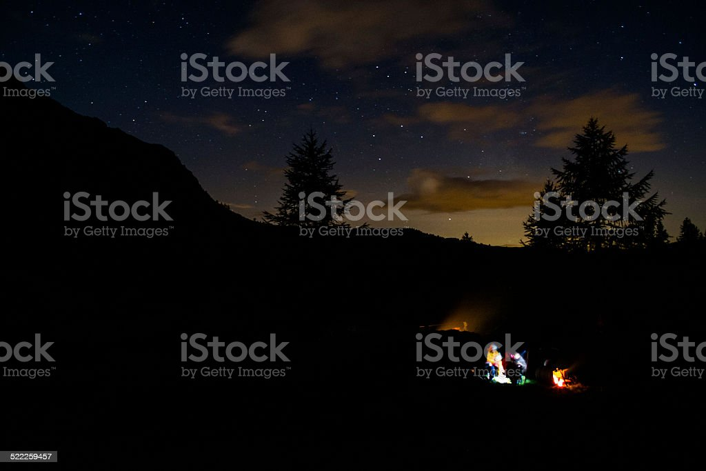 Camping stock photo