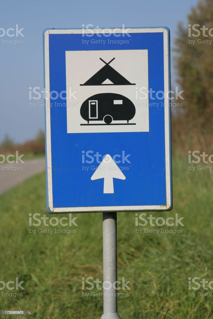 Camping site royalty-free stock photo