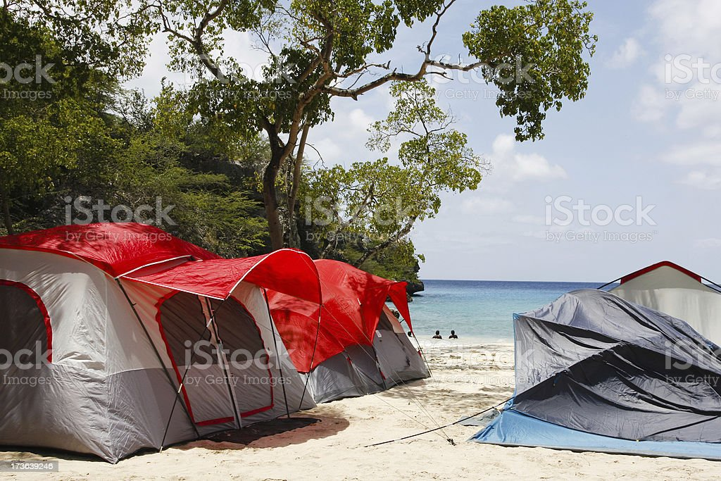 Camping site # 24 royalty-free stock photo