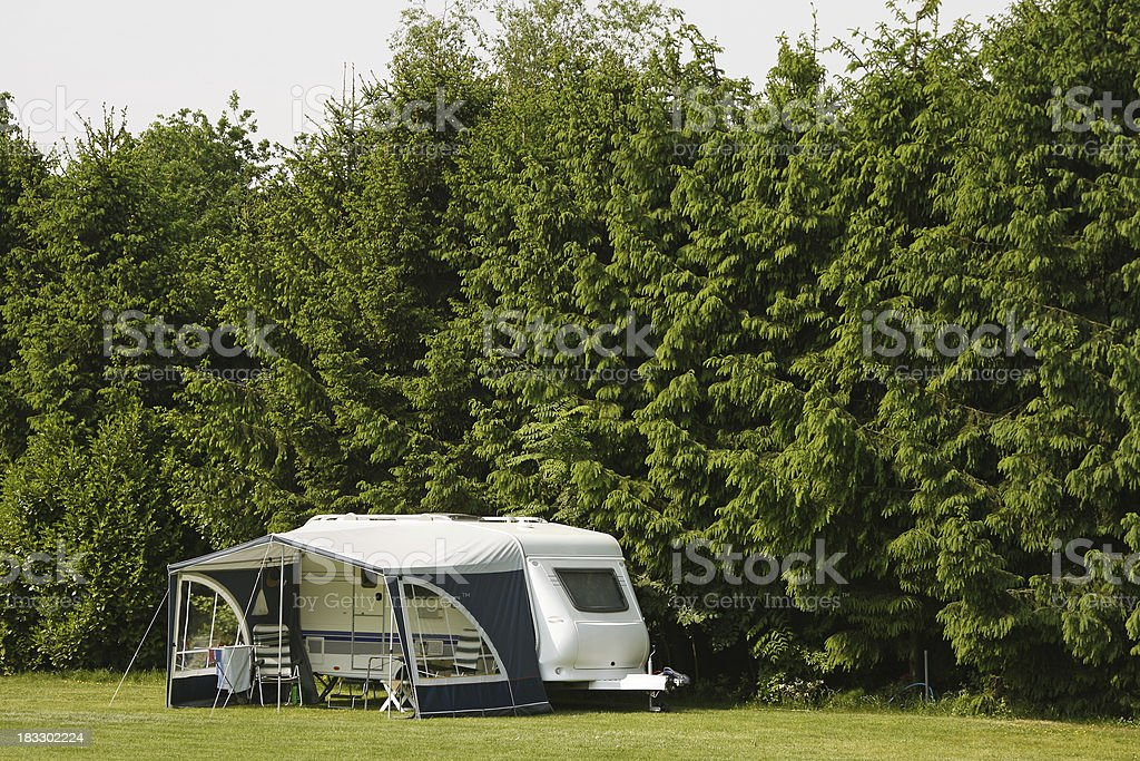 Camping site # 53 royalty-free stock photo