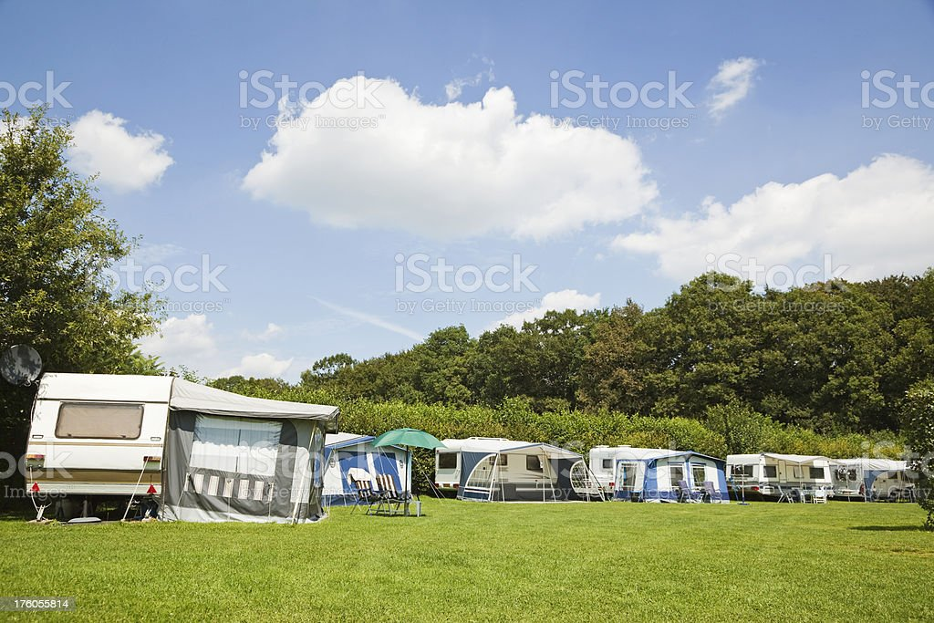 Camping site # 28 XXXL royalty-free stock photo
