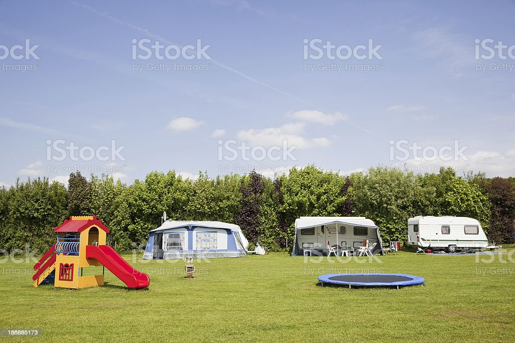 Camping site # 33 XXXL royalty-free stock photo