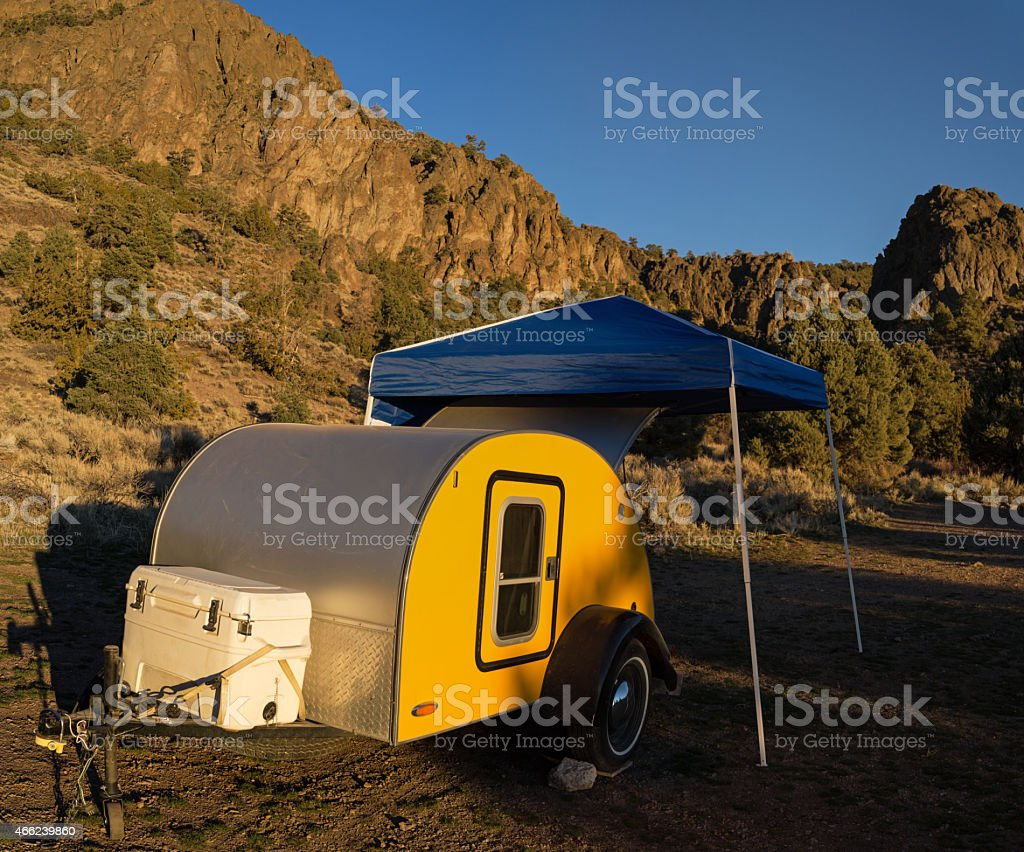 Camping Small stock photo