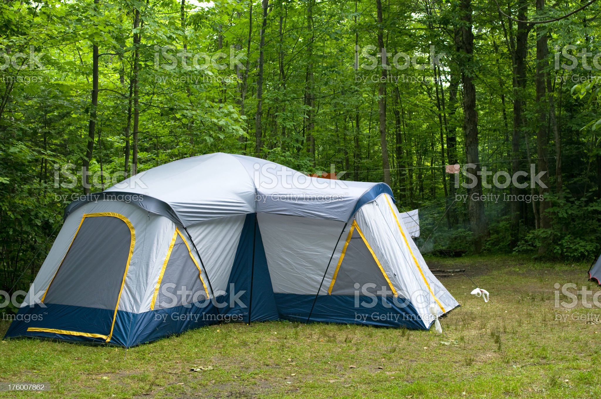 Camping Tent royalty-free stock photo