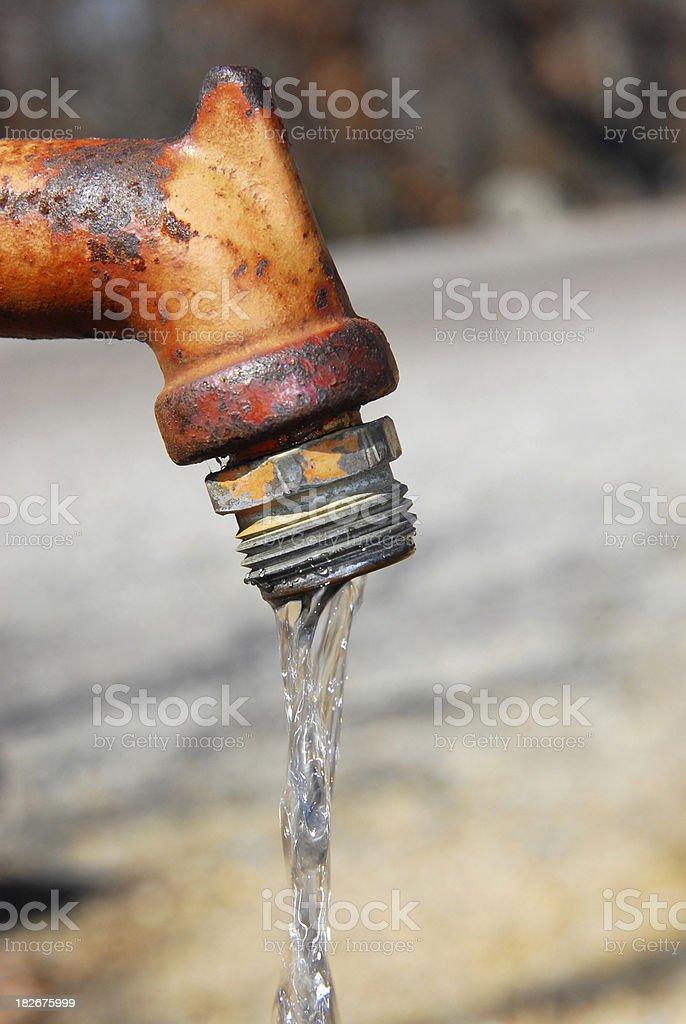 Camping Water Supply Close-Up royalty-free stock photo