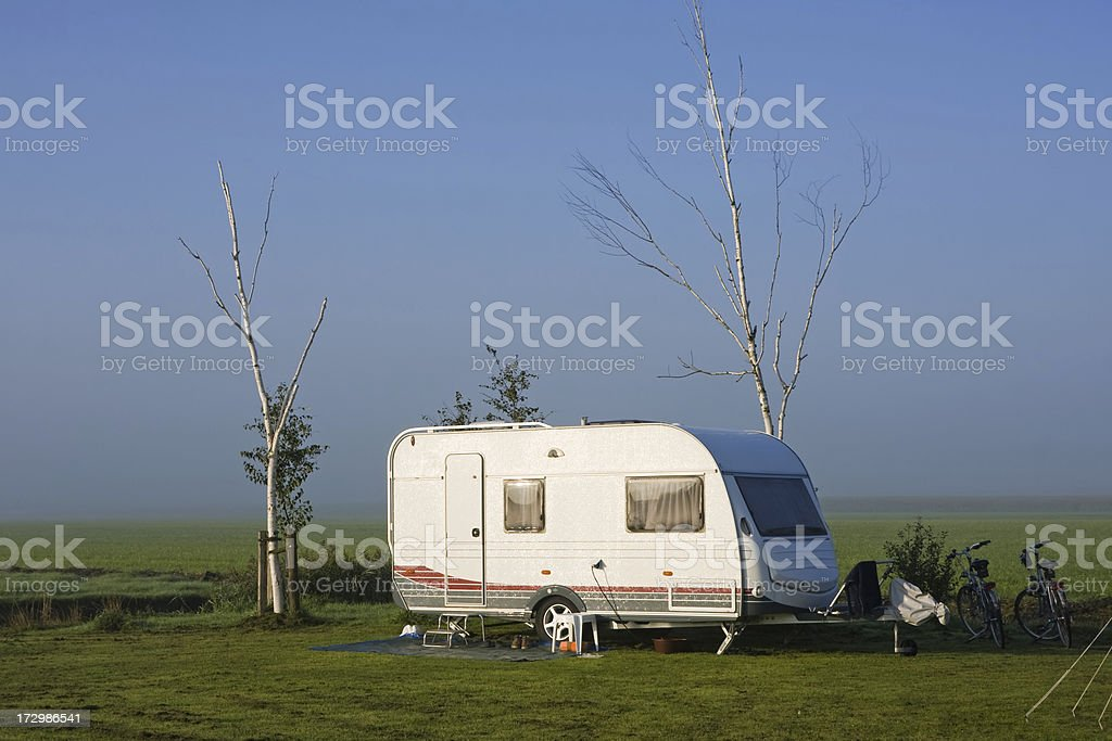 Campingsite # 24 royalty-free stock photo