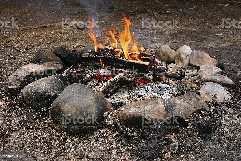 Camp'n stock photo