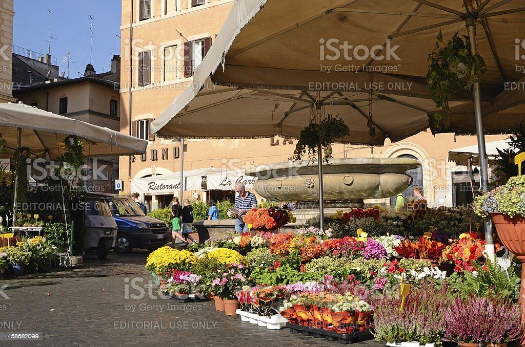 Campo dei Fiori royalty-free stock photo