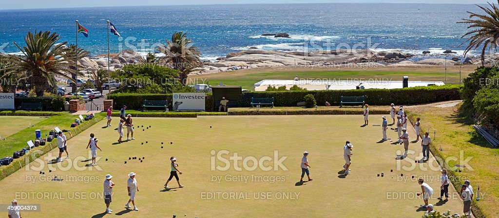 Camps Bay Bowling Club royalty-free stock photo