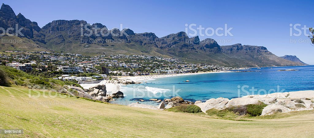 Camps Bay - Cape Peninsular, South Africa royalty-free stock photo