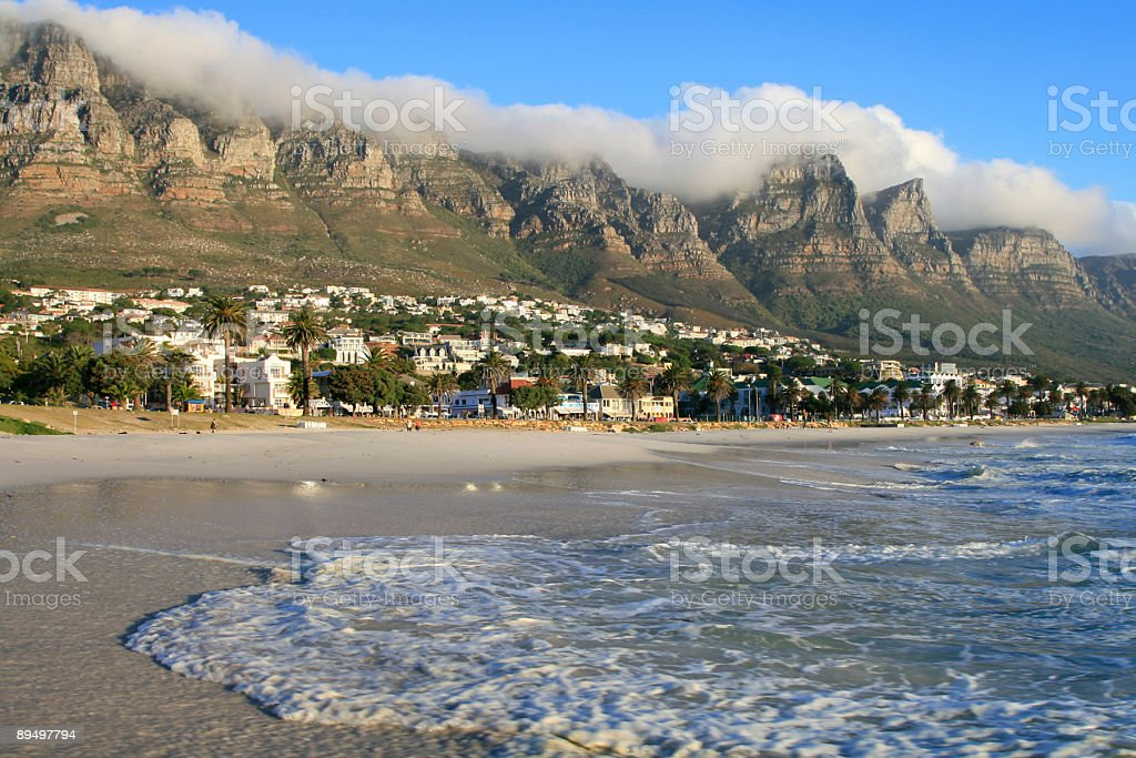 Camps Bay, Cape Town royalty-free stock photo