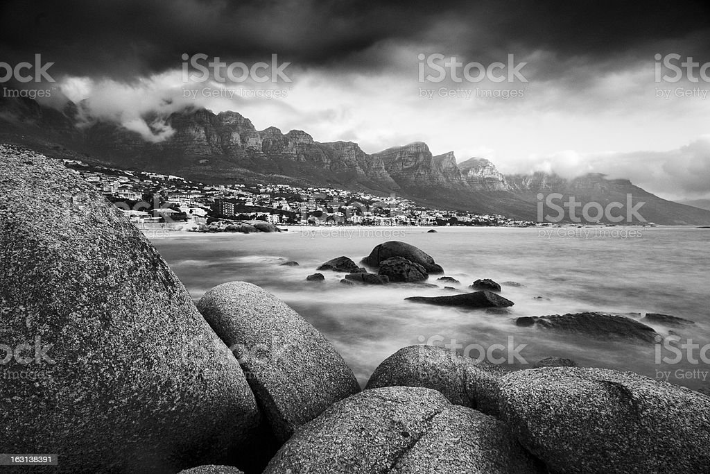 Camps Bay royalty-free stock photo