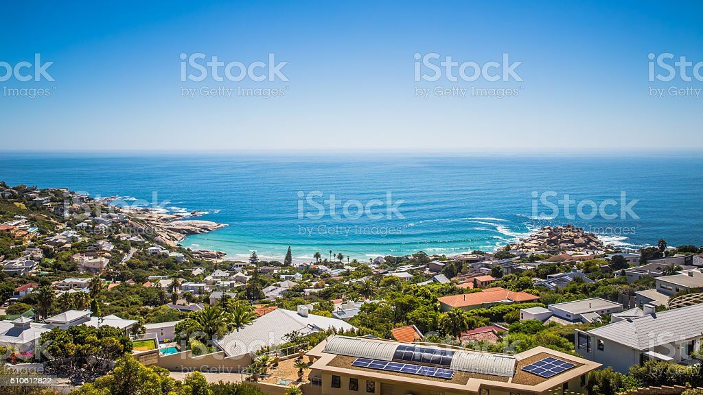 Camps Bay - South Africa stock photo
