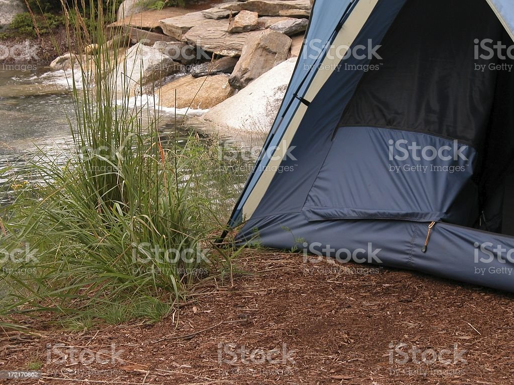 Campsite royalty-free stock photo