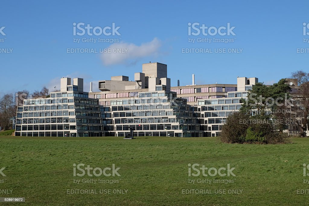 UEA campus, Norwich stock photo