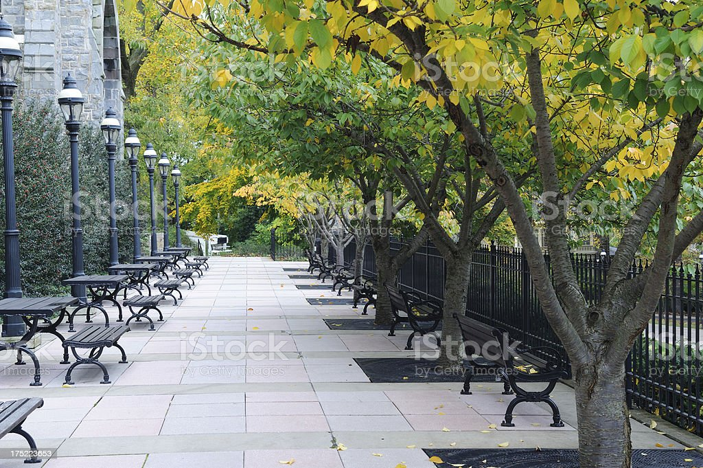 Campus of Lehigh University stock photo