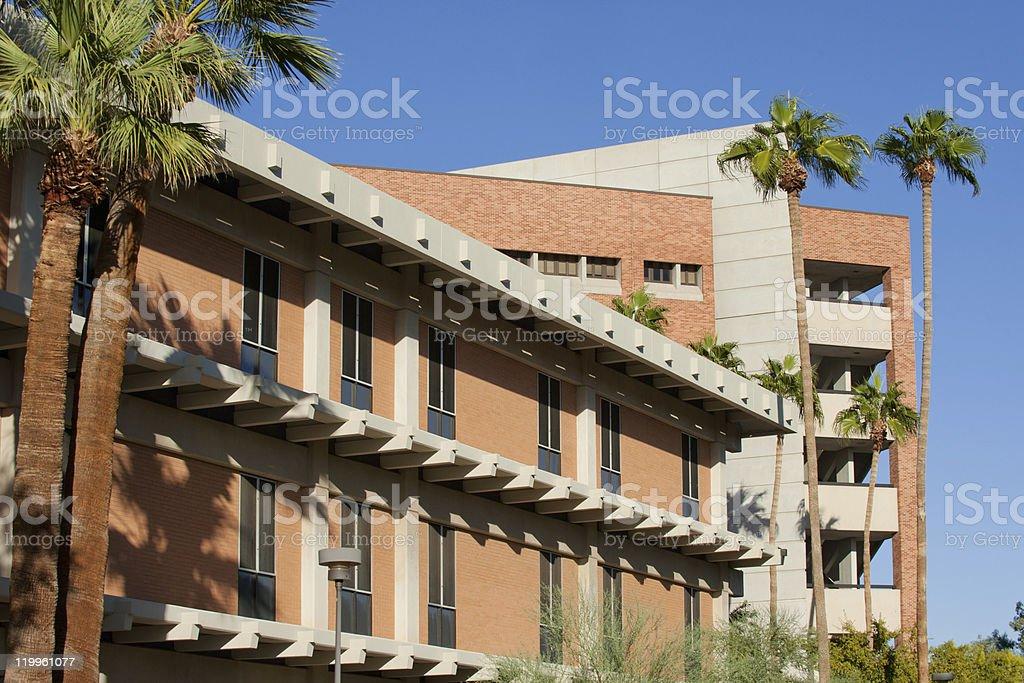 ASU campus royalty-free stock photo