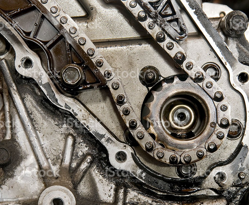 Camshaft gear royalty-free stock photo