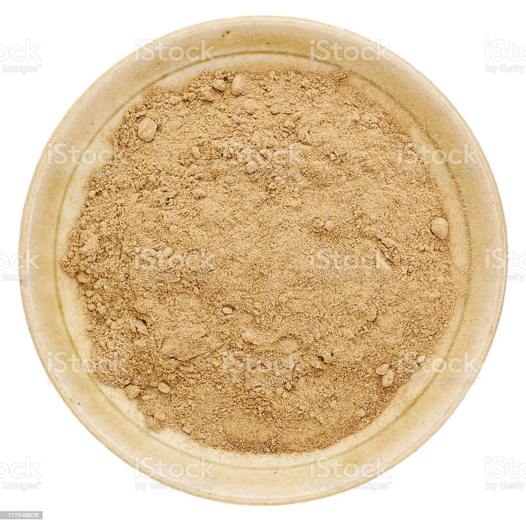 camu fruit powder stock photo