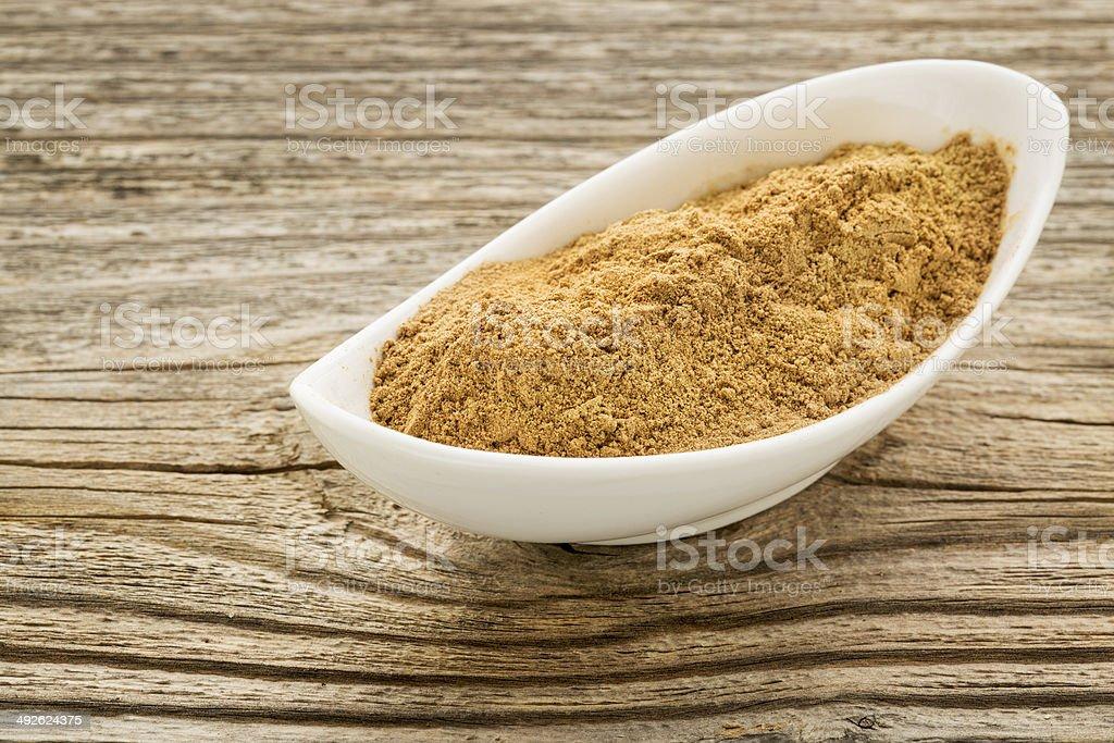 camu fruit powder stock photo