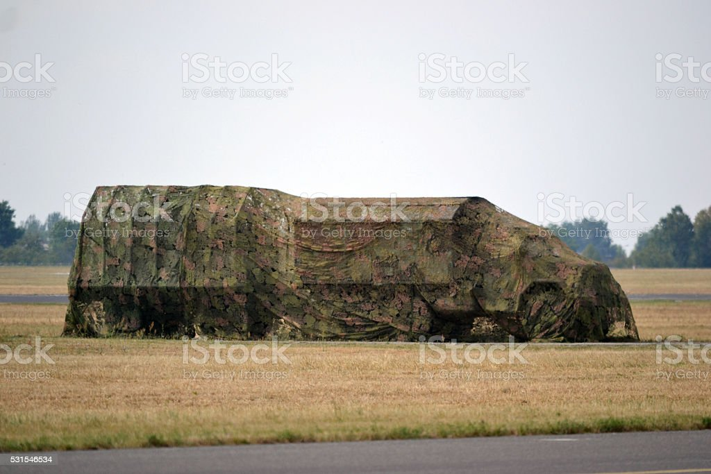 Camuflage - truck stock photo