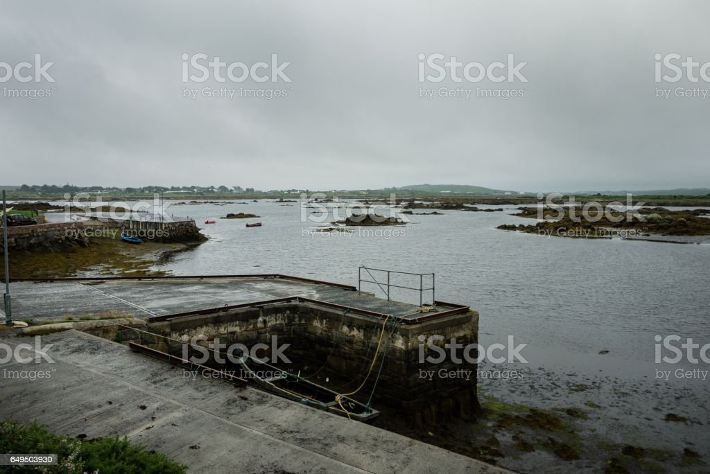 Camus Eighter field and waters stock photo