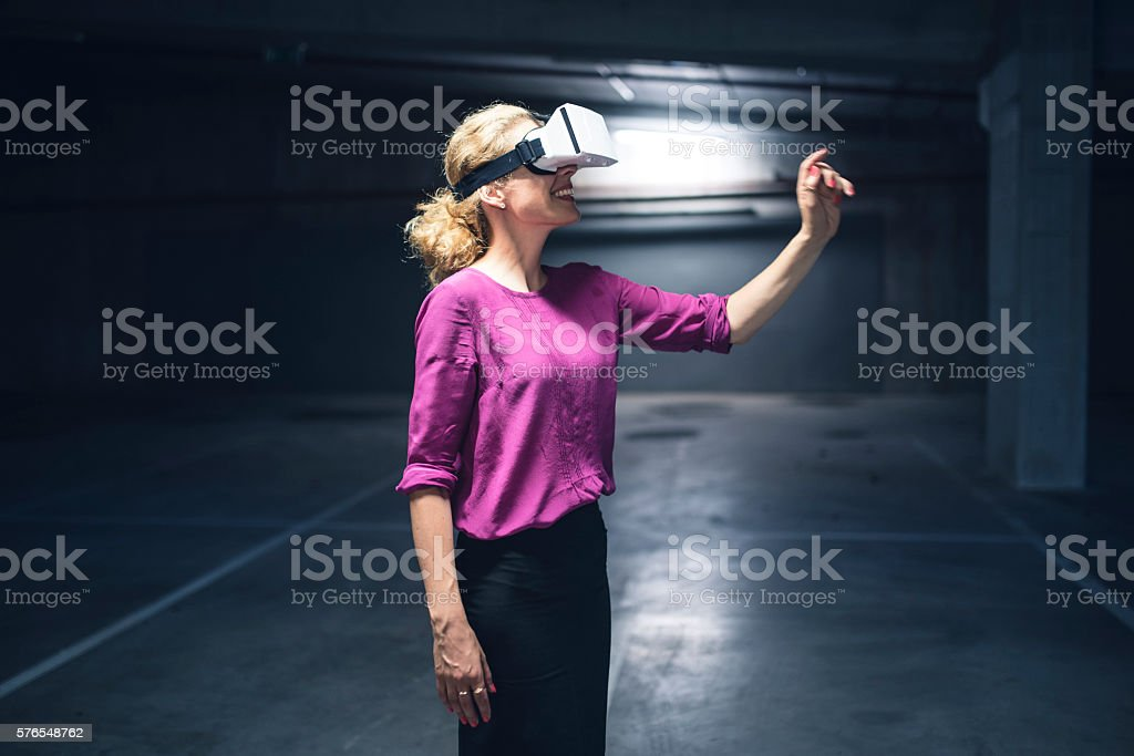 I can almost touch it stock photo