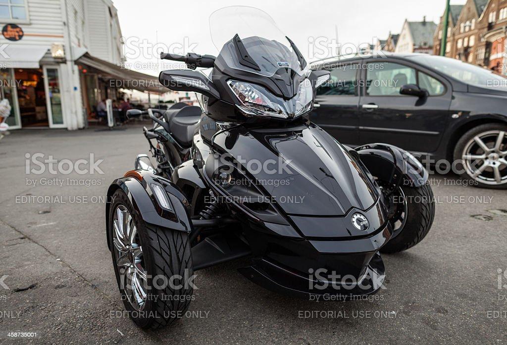 BRT Can Am motorbike stock photo