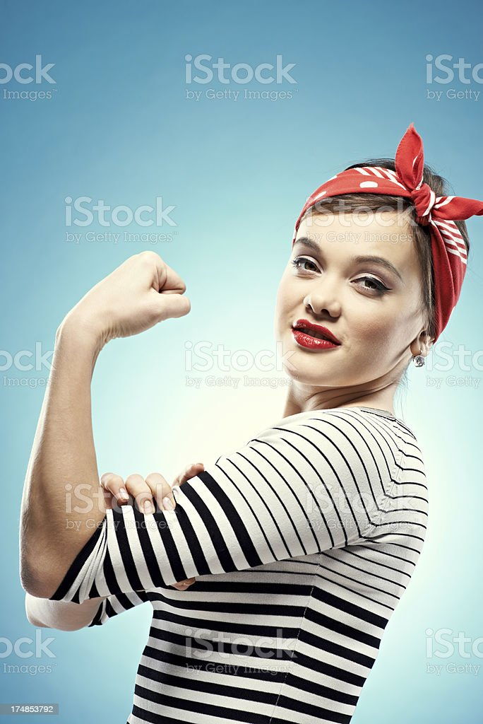I can do it by myself stock photo