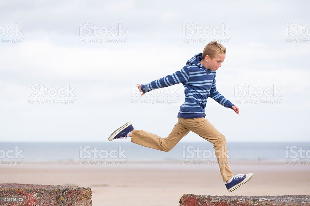 I can do it! stock photo