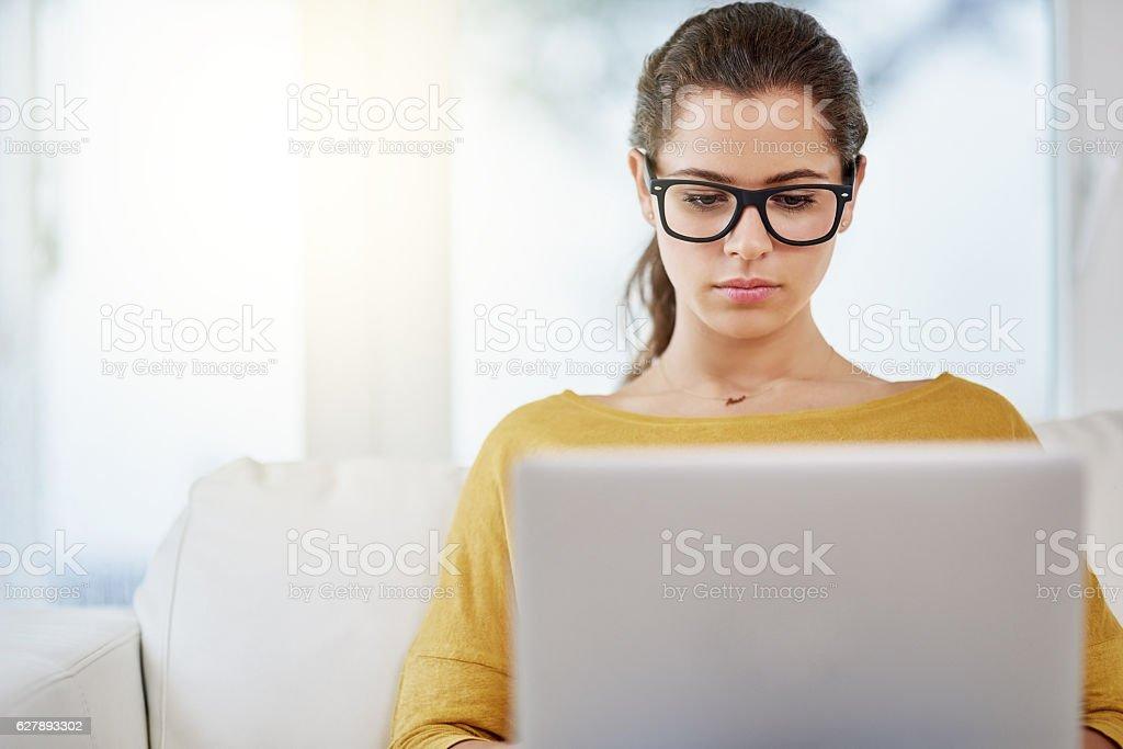 I can do my work anywhere I want stock photo