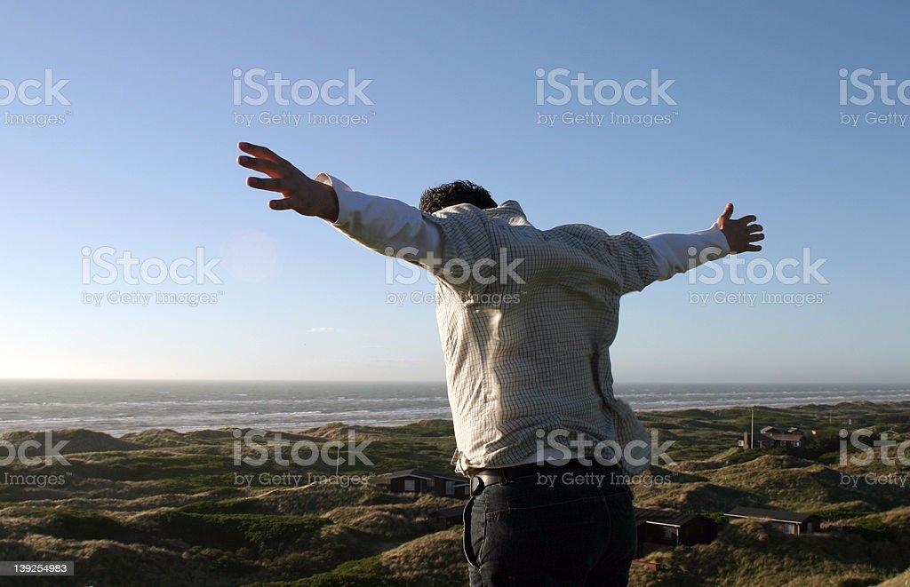 I can fly - I'm free royalty-free stock photo