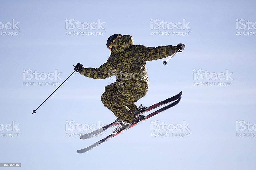 I can fly my friend! stock photo