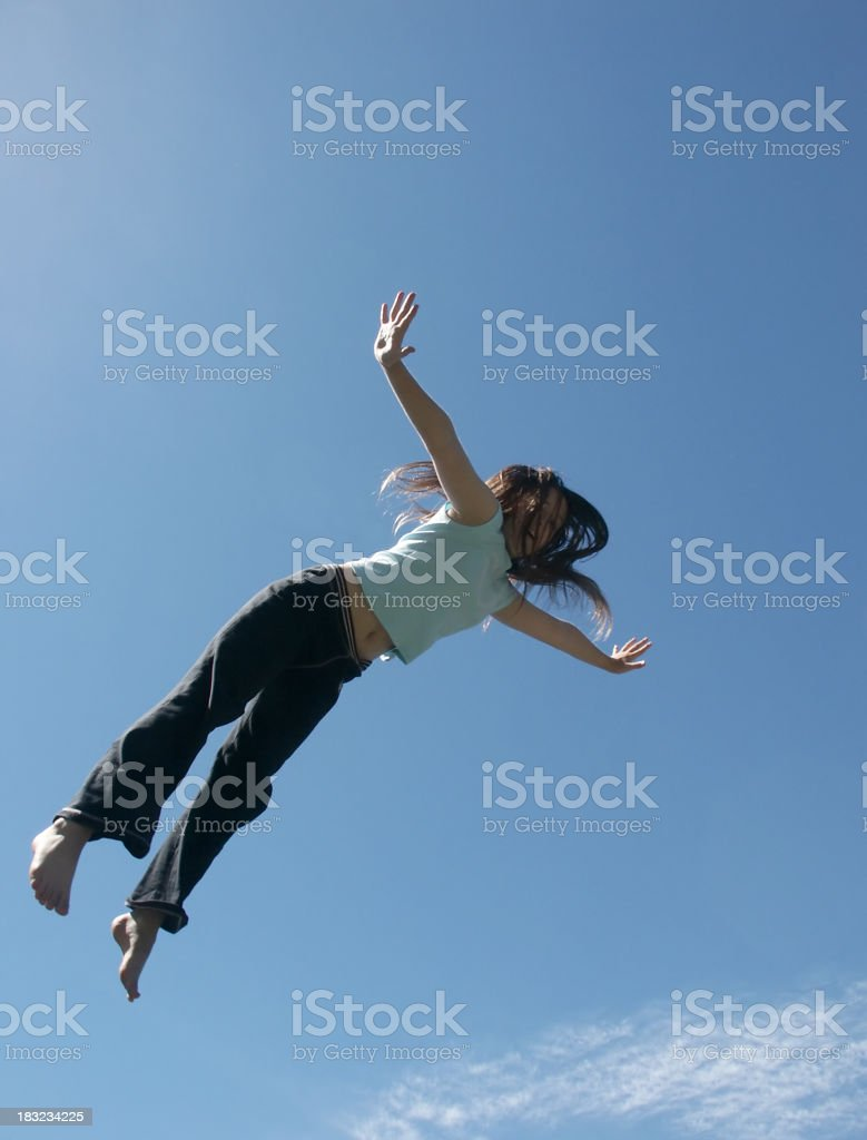 I Can Fly royalty-free stock photo