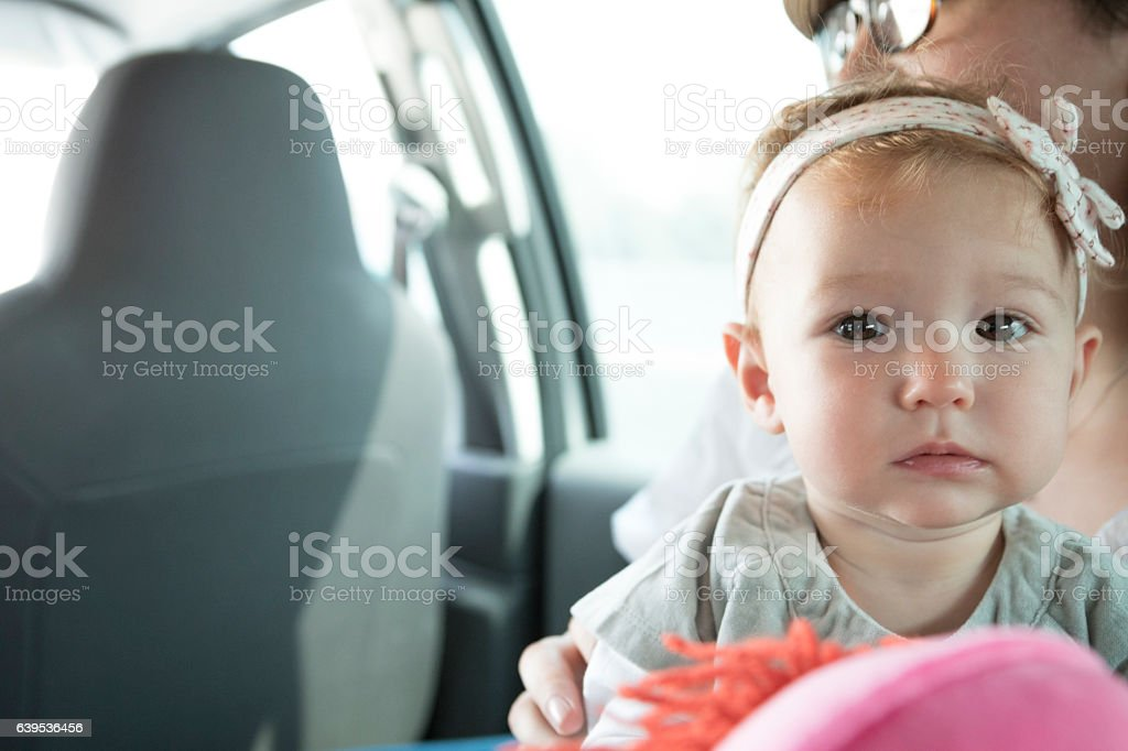 Can I play with my doll? stock photo