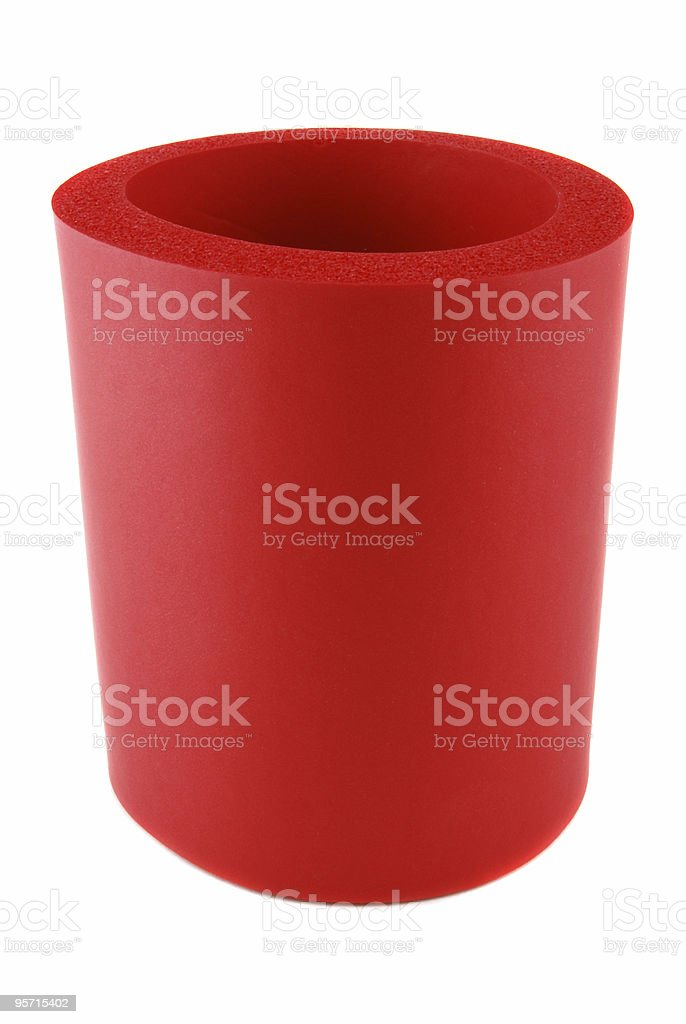 Can Insulator Foam Kozzie royalty-free stock photo